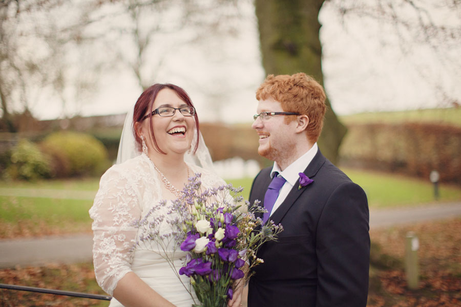 Dani & Sam ♡ YHA Hartington Hall, Hartington Village Hall Wedding