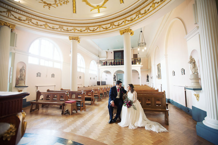 Milly & Luke ♡ All Saints School & NCEM National Centre for Early Music, York Wedding