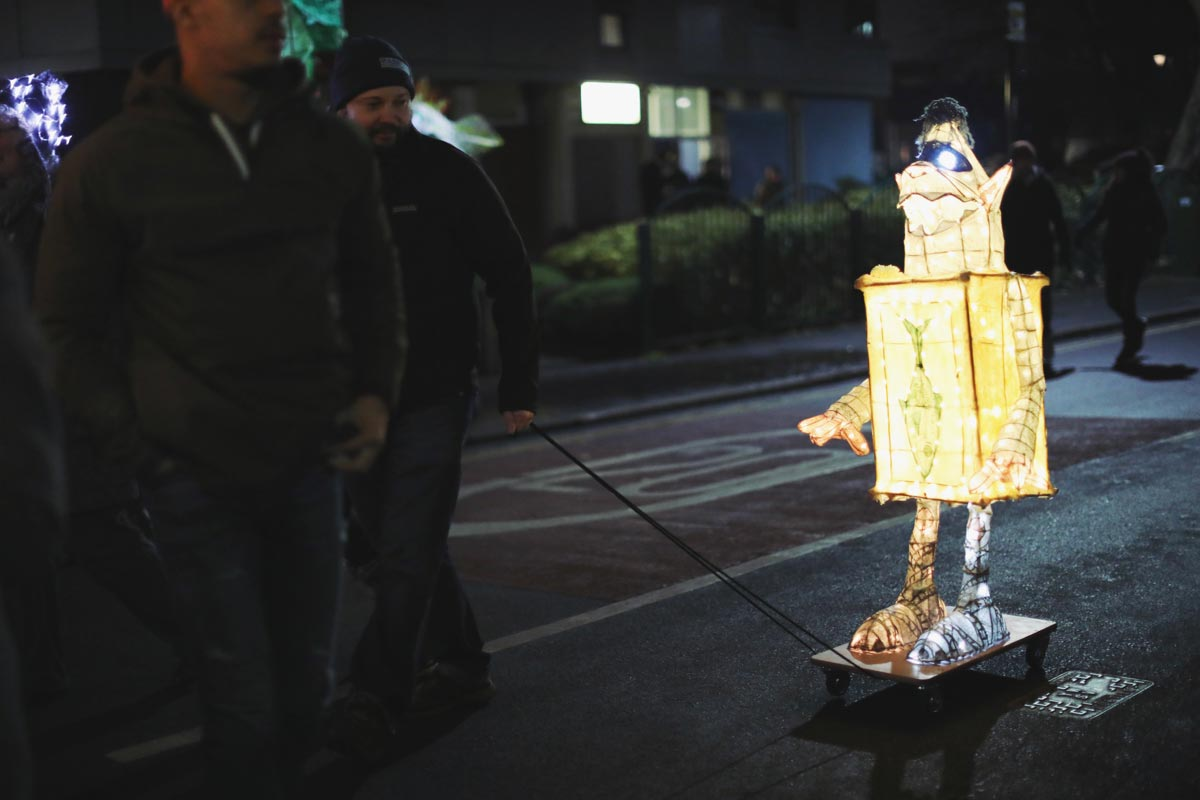Sheffield's light festival beautiful photography at Sharrow Lantern Carnival 2018 with photos by natural Sheffield photographer Sasha Lee Photography