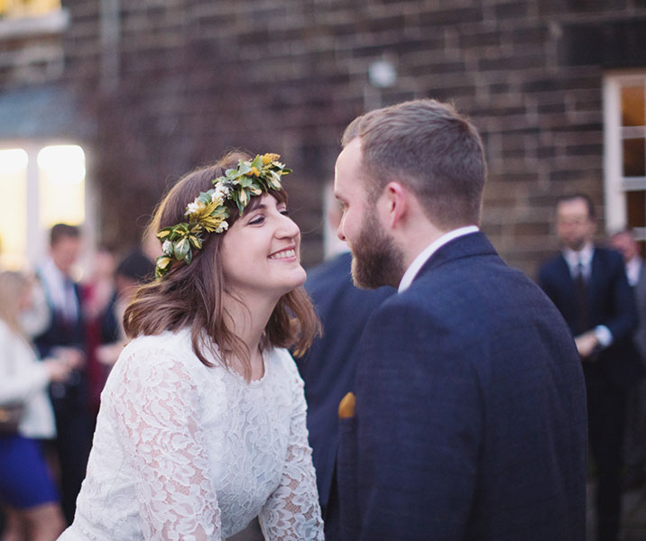 A gorgeous Sheffield wedding at Wood Lane Countryside Centre with a beautiful barn and natural wedding photography by Sasha Lee Photography
