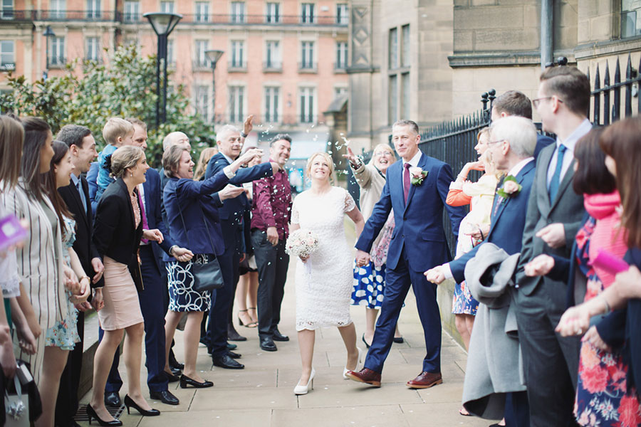 Judith & Michael ♡ Sheffield Town Hall & Piccolino, Sheffield Wedding
