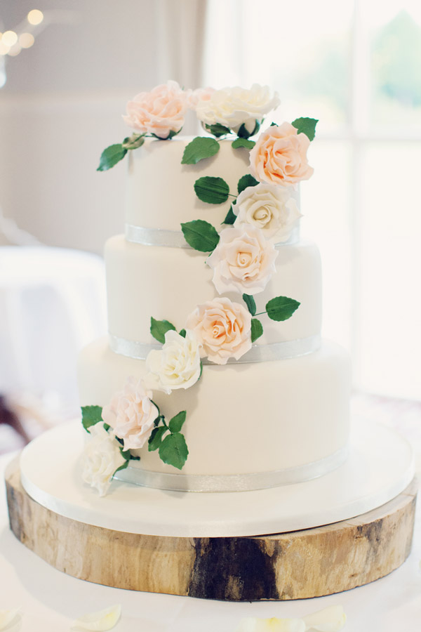 Pure White + Roses