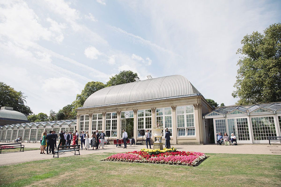 Sheffield Botanical Gardens wedding | Outdoor summer garden conservatory wedding venue Sheffield South Yorkshire | Natural wedding photography Sheffield