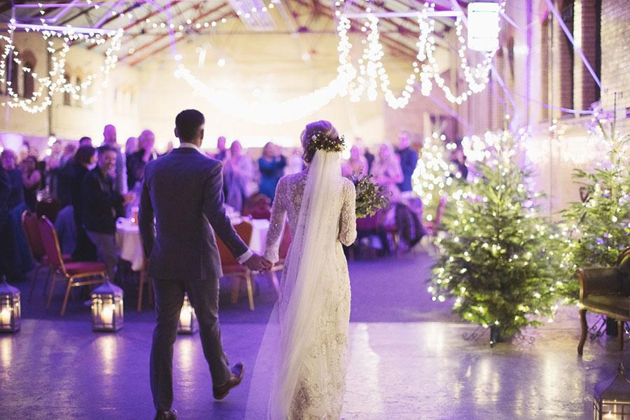 Kelham Island Museum wedding | Sheffield alternative rustic industrial wedding venue | Winter wedding | Mature older couple bride and groom | Natural wedding photography in Sheffield | Female wedding photographer