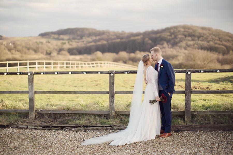 Swancar Farm Country House wedding | Nottingham wedding venue | Countryside wedding | Natural wedding photography Nottingham | Bride and groom photos | Sasha Lee Photography
