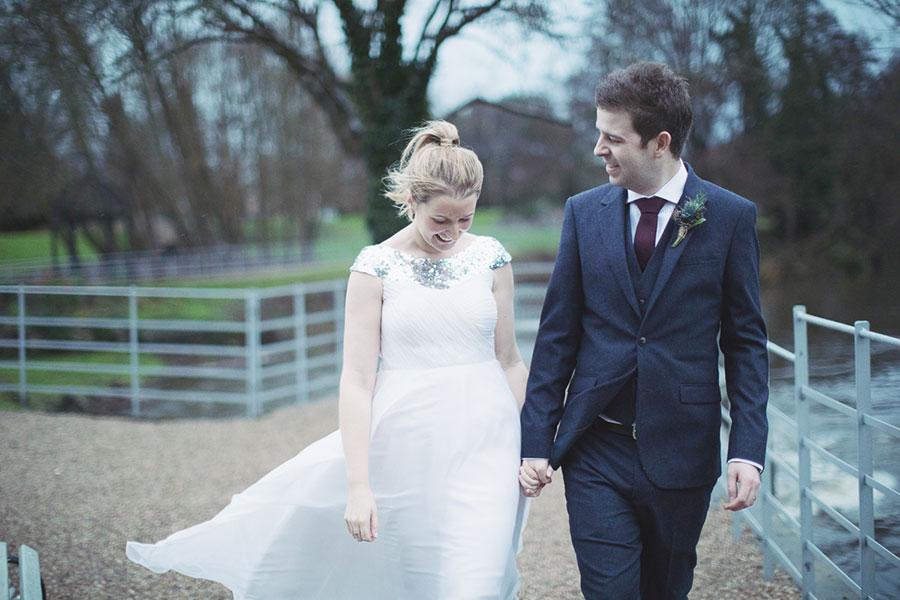 West Mill wedding venue | Derby Darley Abbey rustic industrial venue | Christmas winter wedding | Natural wedding photography Derby |
