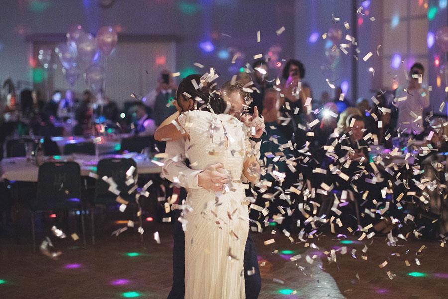 Lomas Hall wedding | Event venue | Stannington | Sheffield wedding reception venue | South Yorkshire wedding | Natural wedding photography Sheffield | Cheap wedding venue Sheffield | Confetti canon first dance
