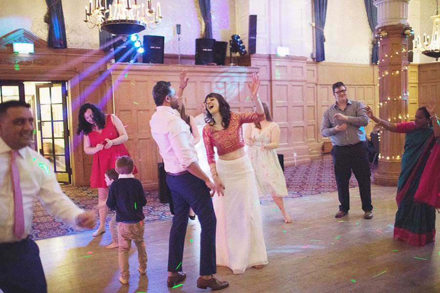 Crowne Plaza Royal Victoria Sheffield | Royal Victoria Holiday Inn Sheffield wedding | Events | Bollywood Indian English crossover wedding event | Sheffield wedding photographer