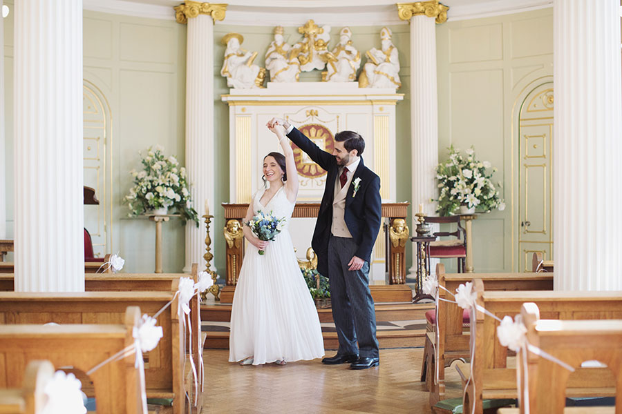 York wedding photographer | Bar Convent Living Heritage Centre | Natural wedding photography | York Christian city centre venue | Ceremony | Sasha Lee Photography