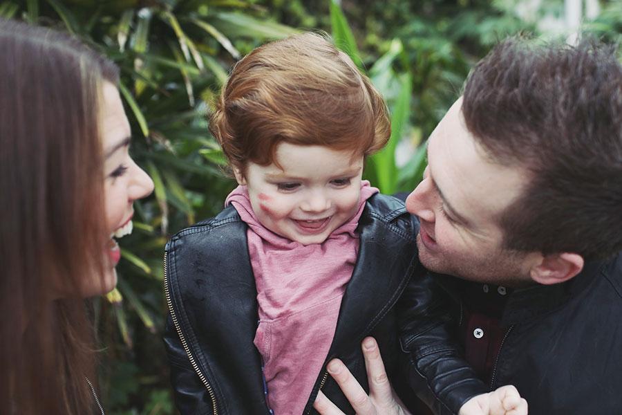 Beth & Josh ♡ Family Photoshoot, Sheffield Botanical Gardens