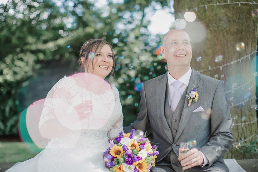 Aston Hall Hotel wedding photographer | BEST WESTERN PLUS Aston Hall Hotel | Sheffield wedding photographer | Natural wedding photography | Yorkshire | Sasha Lee Photography | Bubbles