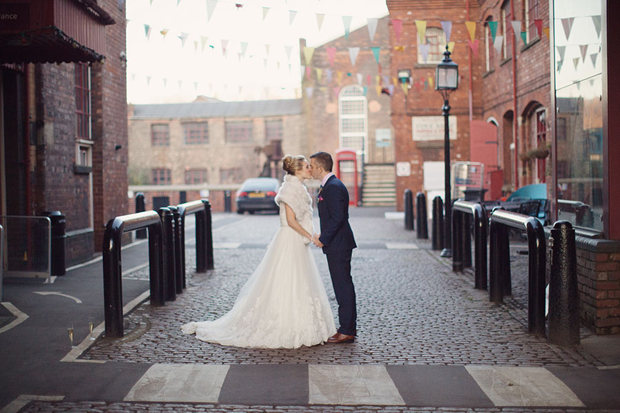 Alternative wedding venue Sheffield | Kelham Island wedding | Urban venue Yorkshire | Unusual wedding venue UK | Natural photography