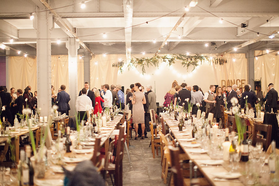 Alternative wedding venue Sheffield | Trafalgar Warehouse wedding | Urban venue Yorkshire | Unusual wedding venue UK | Natural photography