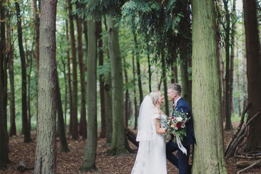 Lucy & Cory ♡ St. John's Church & Hazel Gap Barn, Nottingam Wedding