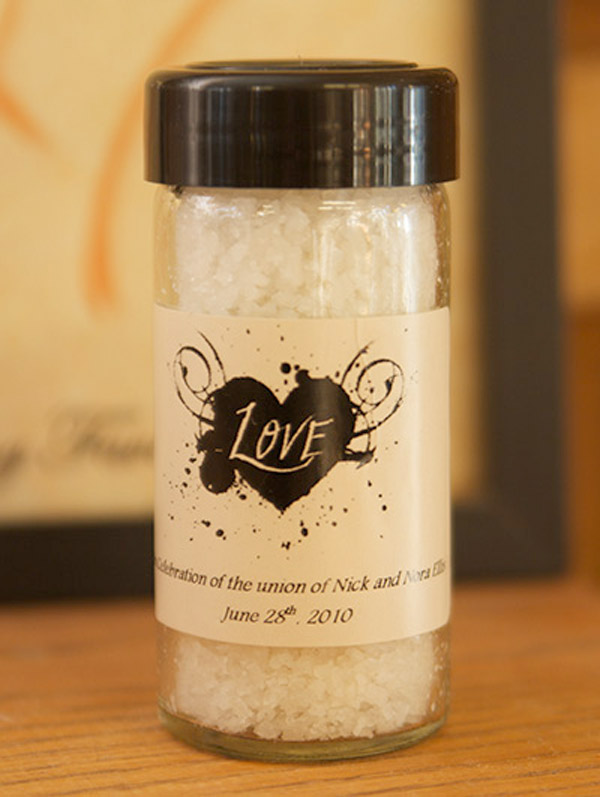 wedding party favour idea | cute spice gift