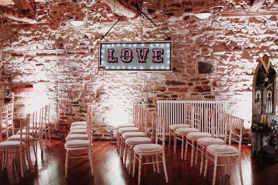 Alternative Yorkshire wedding venue | Wood Lane Countryside Centre wedding