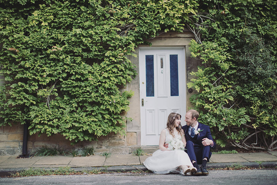 Bakewell Town Hall wedding photography | Derbyshire natural wedding photography | Peak District small intimate wedding ceremony during COVID 19 | Bakewell Register Office
