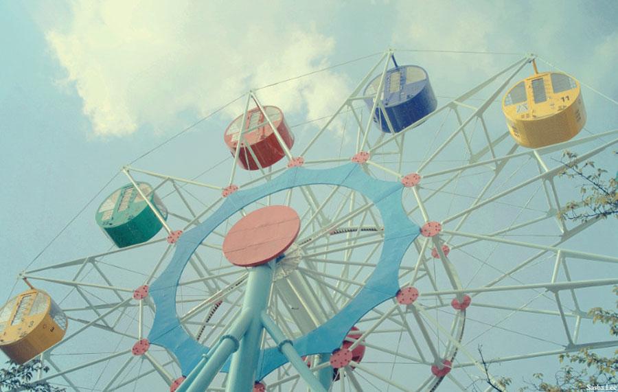 Fun Engagement Shoot Ideas | Funfair | Theme Park