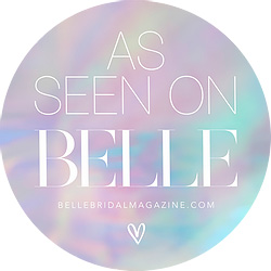 Belle Bridal badge
